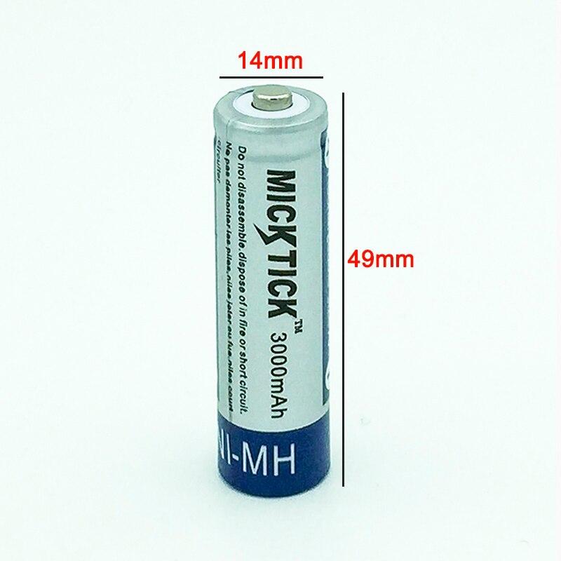 Baterias Recarregáveis mah ni-mh1.2v 2a 5 baterias Número DA Bateria : 12pcs Batteries