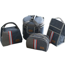 Oxford Thermal Lunch Bag Insulated Cooler Storage Women kids Food Bento Bag Portable Leisure Accessories Supply Product