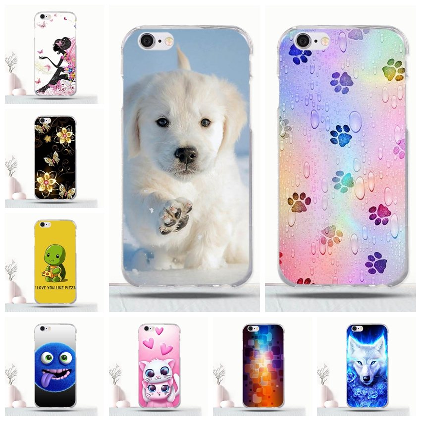 For Apple iPhone 6 6S Slim Soft Silicone Case 3D Cute Animal Pattern Coque For iphone