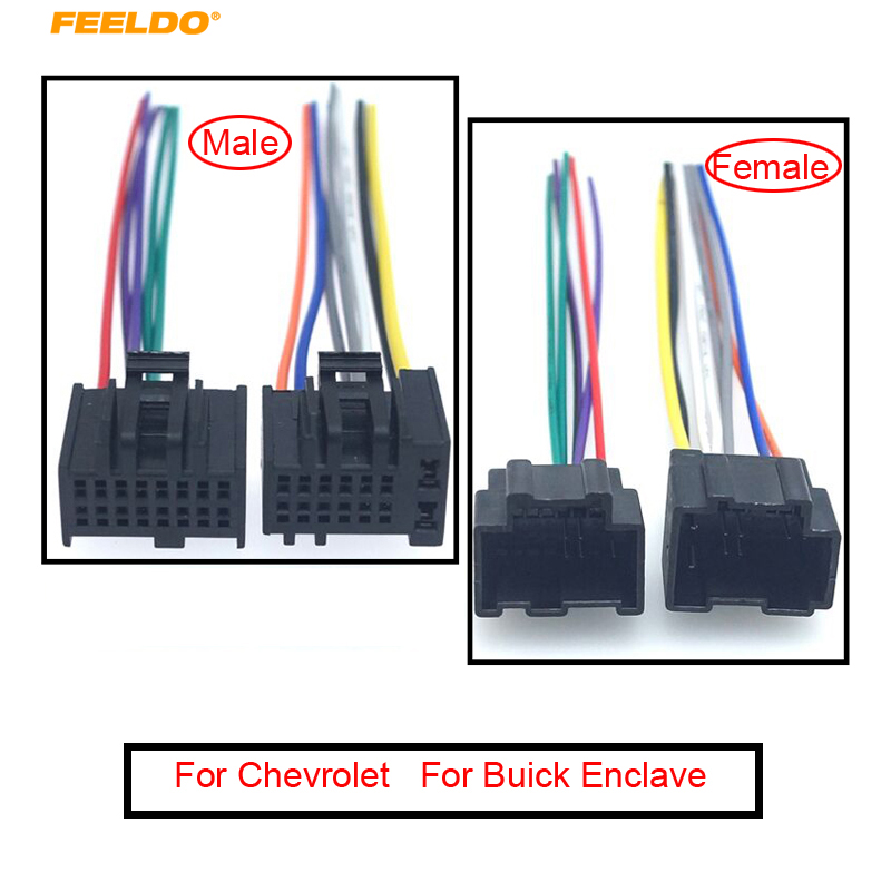 Car Radio Audio ISO Wiring Harness Cable Adapter For Chevrolet Captiva  Enclave Silverado Tahoe Stereo Plug Into Factor Wire|Cables, Adapters &  Sockets| - AliExpressAliExpress