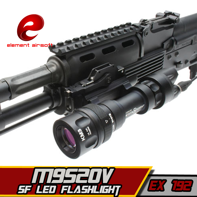 Софтейр Элемент Surefir M952V Тактикалық IR Фарфор линтенті Gun Arsoft ұрыс қаптауы Hunting Rifle үшін Airsoft Arms Lights