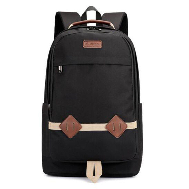 Men and Women Backpack Stitching Backpack for Teenagers Casual Backpack Student bag Computer Backpack Schoolbags mochila 6