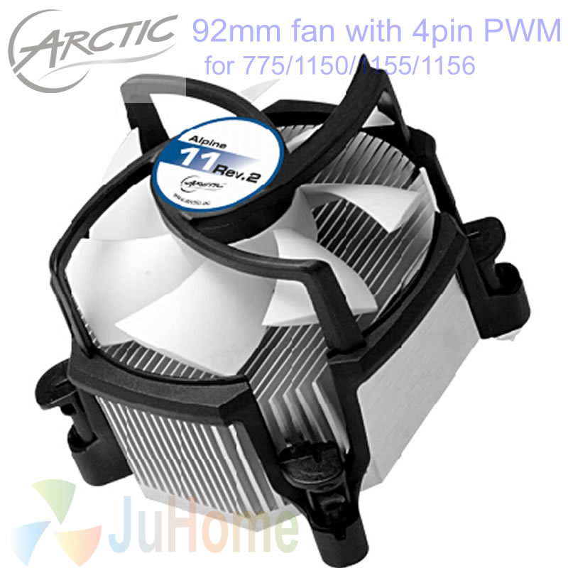 Top Silent 4pin PWM 90mm, 92mm fan, Cooling TDP 95W for Intel LGA775 1150 1151 1155 1156, CPU cooler fan, ARCTIC Alpine 11 Rev.2 2017 new pattern small children s garment baby twinset summer motion leisure time digital vest shorts basketball suit