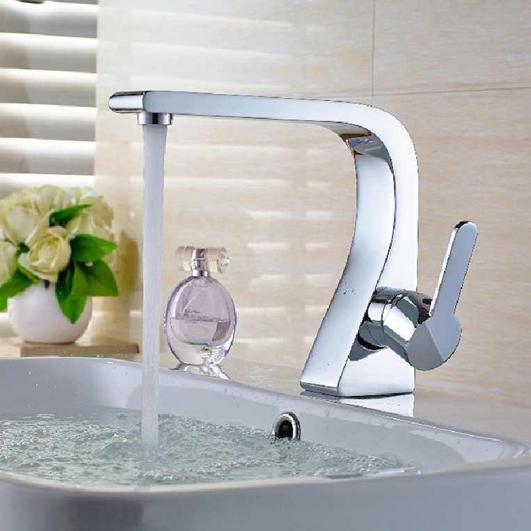 new arrival top high quality brass single lever hot and cold chrome bathroom basin faucet bathroom sink faucet bathroom faucet square international award design brass single lever bathroom basin faucet bathroom sink faucet bathroom faucet