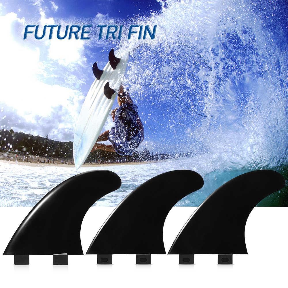 3 Pcs/2 Pcs GL/GX/M5/G5 Papan Selancar FCS Sirip Surfing Aksesoris Papan Selancar Fin Pendorong tir Sirip Fiberglass Nilon Surf Sirip