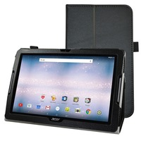 For Acer Iconia One 10 B3 A30 Folio Stand Cover Magnetic Flip PU Leather Shockproof 10