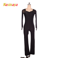 11 Colors Customized Clothes Ice Skating Figure Skating Leotard Gymnastic Costume Skater Adult Child Girl Jumpsuit