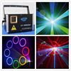 Free Shipping Laser Lights Projector LED Stage Lights Mini Auto Flash RGB Sound Activated