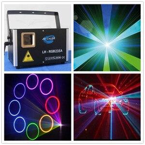 Image 1 - Projecteur Laser LED lumières de scène, Mini Flash automatique RGB activé par le son