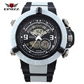 Marca Epozz Running Men Sports Hub Watch Waterproof Alarm Male Clock 2805