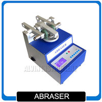 Taber Abrasion Tester abraser Abrader Rotational Abrasion Tester meets main international standards Two run speed Free Shipping