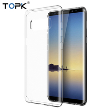 For Samsung Note 8 Case Newest Ultra Thin Transparent Soft Silicone TPU Anti knock Phone Cover
