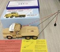 DINKY SUPERTOYS 888 Atlas 1 43 Dinky Toys CAMION PETROLIER SAHARIEN GBO BERLIET Alloy Diecast Car