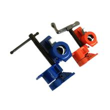 Woodwork Carpenter Clamps Jointed Board Cast Iron Wood Gluing Pipe Fixture Connecting Clamp Woodworking Tools все цены