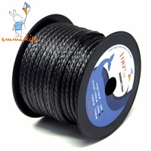 Braided Kite Line for Power Stunt Kite Flying 4.5mm 5500lb Paracord Parachute Fishing Cord Camping Safety Rope