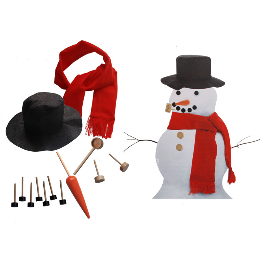 Outdoor Toys Make a Snowman Christmas Decorations For Home Family Interaction Fun Games Toy Christmas Gifts For Kids-in Toy Sports from Toys & Hobbies ...