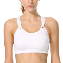 Women's High Impact Wire Free Non Padded Rebound Racer Pro Sports Bra