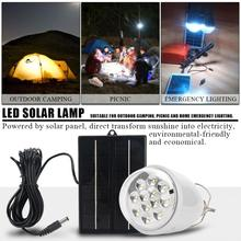 Garden 12LED Solar Light Bulb Lamp Outdoor Camping Yard Light Emergency Solar Light Remote Control luz solar led para exterior 25led solar camping light solar multifunction remote control lights solar hanging light tent light