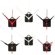 Высокое качество кварцевые часы механизм с крюком DIY Ремонт Запчасти+ руки домашний декор бесшумный 12 дюймов