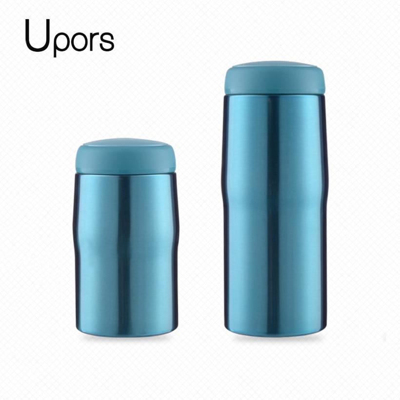 36a5cdf8237 Unibird 304 Edelstahl Thermos Tee Tasse mit Infuser Vakuum Glaskolben  Thermische Wasser Flasche Kaffee Becher Thermocup
