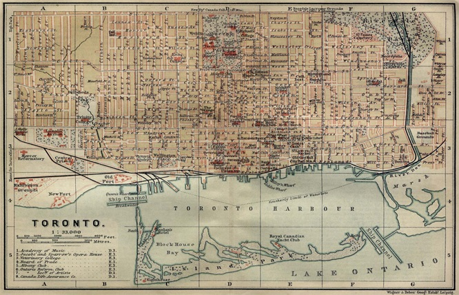 Toronto City Structure Map Classic Vintage Retro Kraft Decorative Poster  Maps Wall Sticker Home Bar Posters. Compare Prices on Vintage Map  Online Shopping Buy Low Price