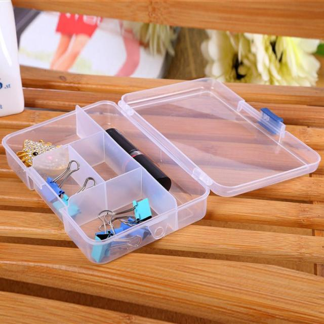 Portable Plastic Fishing Lure Bait Box Fishing Tool Storage Pills
