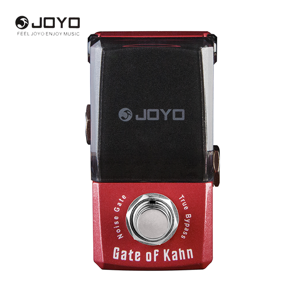 JOYO IRONMAN Series Noise Gate Guitar Effect Pedal The Minimum Loss Of Tone True Bypass mooer ensemble queen bass chorus effect pedal mini guitar effects true bypass with free connector and footswitch topper