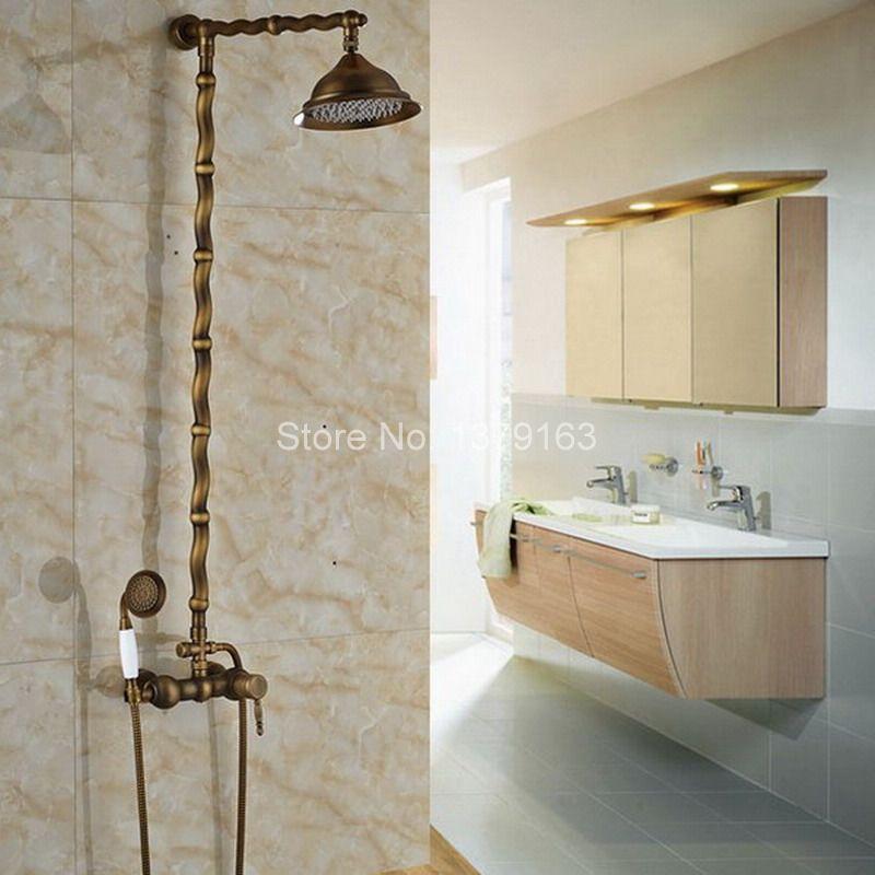 Badezimmer Retro Hausbillybullock   Messing Spulen Retro Design