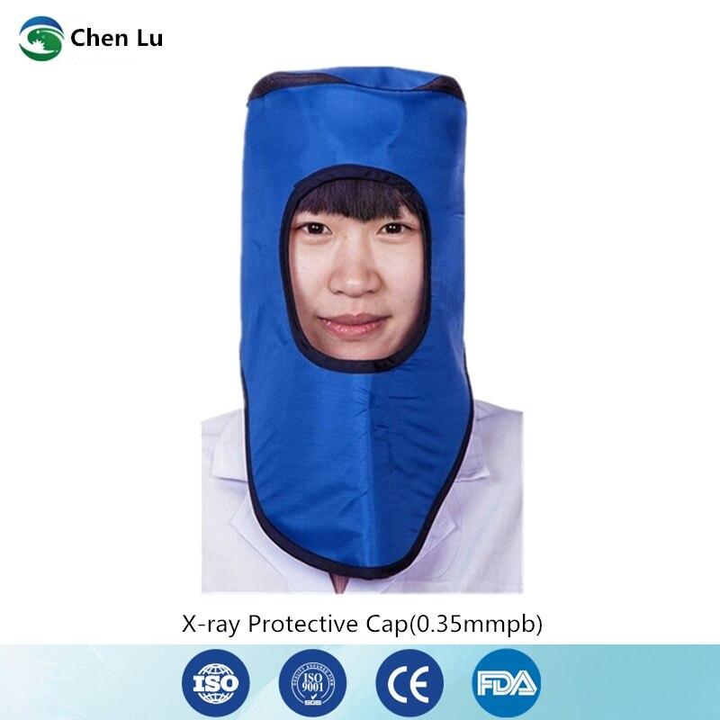 2019 Mode Empfehlen Medizinische Anwendungen Von Ionisierende Strahlung Kopf Voller Schutz 0,35 Mmpb Blei Kappe X-ray Schutz Zubehör Schutzhelm