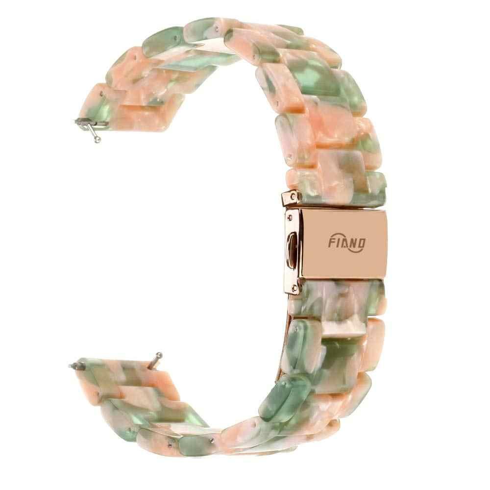 Correas de reloj de resina ligeras para Fitbit Watch Versa/Versa reemplazo de pulsera de hebilla de Metal para Fitbit Series
