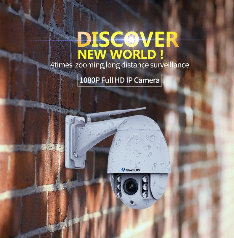 Offre spéciale sans fil PTZ dôme IP caméra extérieure 1080 P HD 4X Zoom CCTV sécurité vidéo réseau Surveillance sécurité IP caméra Wifi