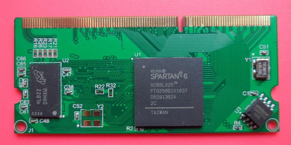 Xilinx Development Board Spartan6 XC6SLX25 Core Board FPGA Development Board DDR3 Interface No Floor