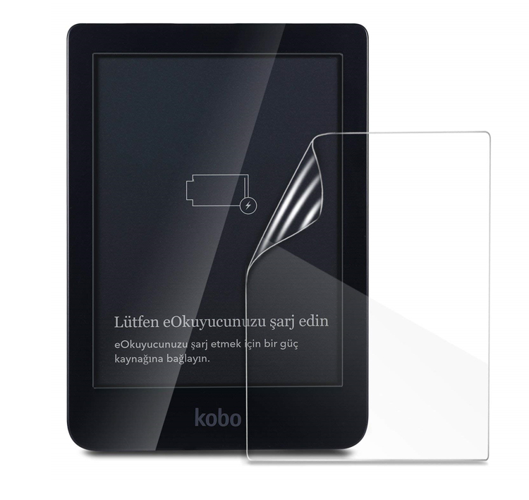 2pcs Clear LCD PET Shield Film Anti-Scratch Screen Protector Cover For Kobo Clara HD 6 Inch Tablet E-Reader Accessories