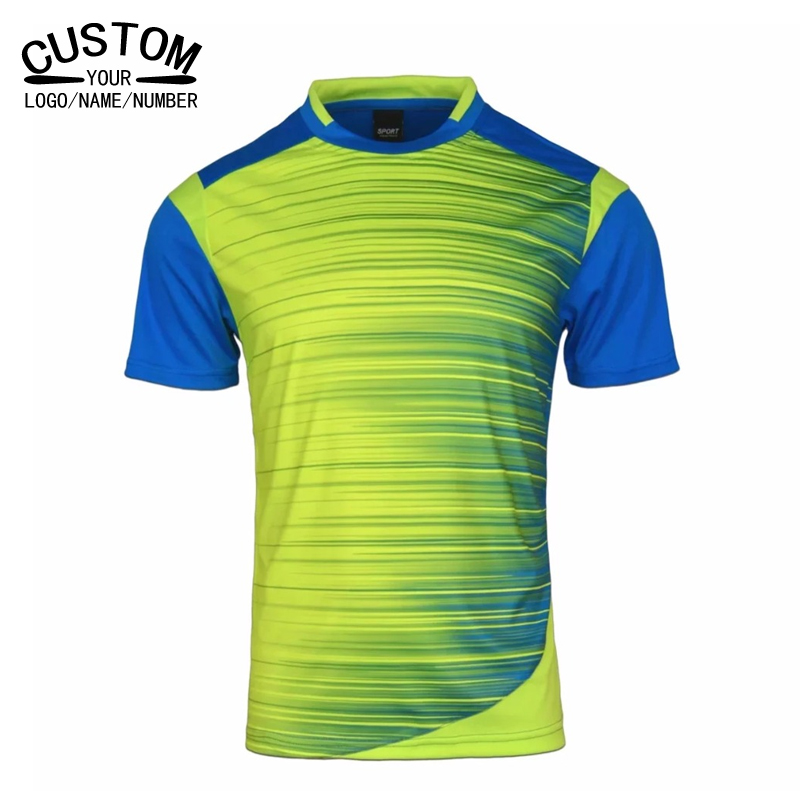 Men sportwear clothing 2017 Football Jerseys golf Shirt Boys Soccer Training Shirts Jerseys Teens Breathable Football Jerseys