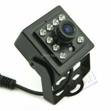 "CCD 700TVL Mini IR camera 1/3"" sony ccd Security CCTV IR-CUT Mini IR cameray with 10Pcs IR 940nm infrared 0.1LU night vision"