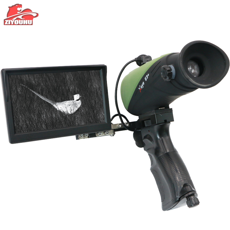 X- infrared E3+ Thermal Imaging Night Vision Goggles Digital Laser Infrared Monocular Imager for Hunting