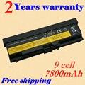 Jigu bateria de 9 células para lenovo thinkpad l410 l412 l420 l421 L510 L512 L520 SL410 SL410k SL510 T410 T410i T420 T510 T520