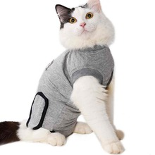 Cat Recovery Suit For Cat Sterilization Care Wipe Medicine Prevent Lick After Surgery Wear Weaning Suit And Surgery Wounds цена и фото