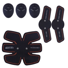 Electric Muscle Massage Weight Loss Slimming Device Training Abdominal Stimulation Body Exercise Relax GearA skin care electric abdominal muscle trainer body massage fit training exercise abdominal muscles loss slimming abdomen set tool
