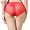 Mulheres underwear cuecas mulheres sexy calcinha de renda transparente cheia corda plus size mulheres underwear calcinha sem costura