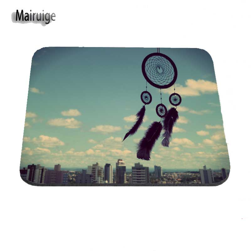 Mairuige New Personalized Gaming Mousepad Dream Catcher Design Anti-slip Computer Mouse Pad Mat Best Durable Mousemats