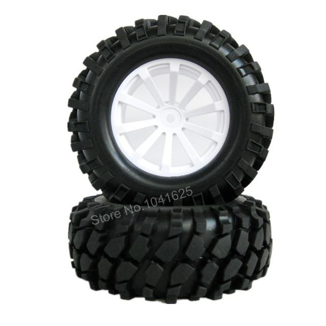 "4pcs/lot 1.9"" Tires 96mm Wheel 12mm Hex Hub For RC 1:10 Rock Climbing Crawler Car Tamiya HSP HPI AXIAL SCX10 Exceed"