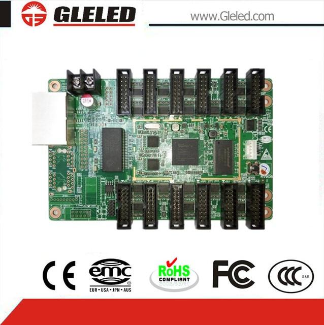 linsn studio RV908,reciever card 908, 1024 * 256 pixel ,rv801,sync full color rgb control system / led display receiving card