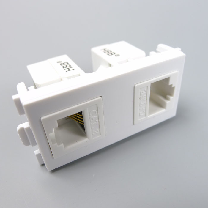 U033f U033f U033f  U2022 U032a  Rj45 And Rj11 Connector Wall  U15d4 Plate Plate With