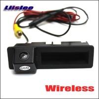 Liislee Wireless Car Rear View Camera For Audi Q7 2011 2012 2013 / HD Back Up Reverse Camera / Plug & Play Trunk Handle