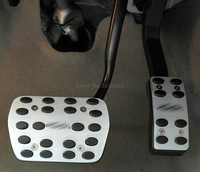 For Ford mondeo 2013 2015 AT Sport Fuel Brake Dead Pedal Cover Auto Accessories