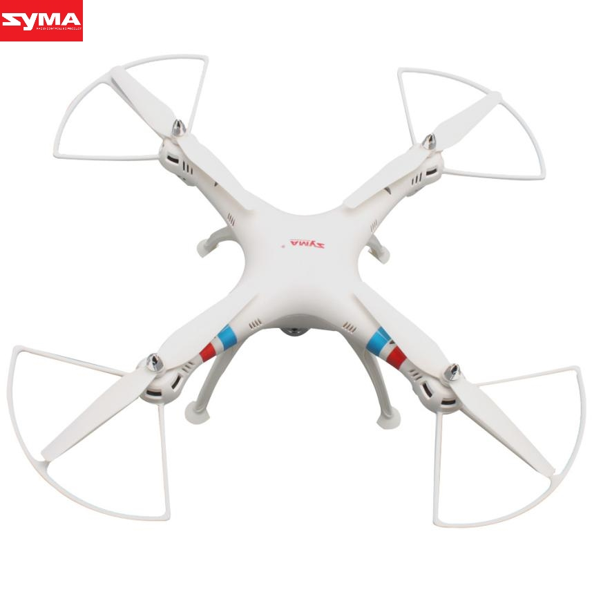 SYMA Aircraft 2.4GHz 4CH 6-Axis RC Drone with 2.0MP HD Camera Quadcopter helicopter gyro remote Control aircraft dec27 new arrival attop a5 2 4g 4ch 6 axis gyro rtf remote control quadcopter 180 360 degree flips aircraft drone toy 2016
