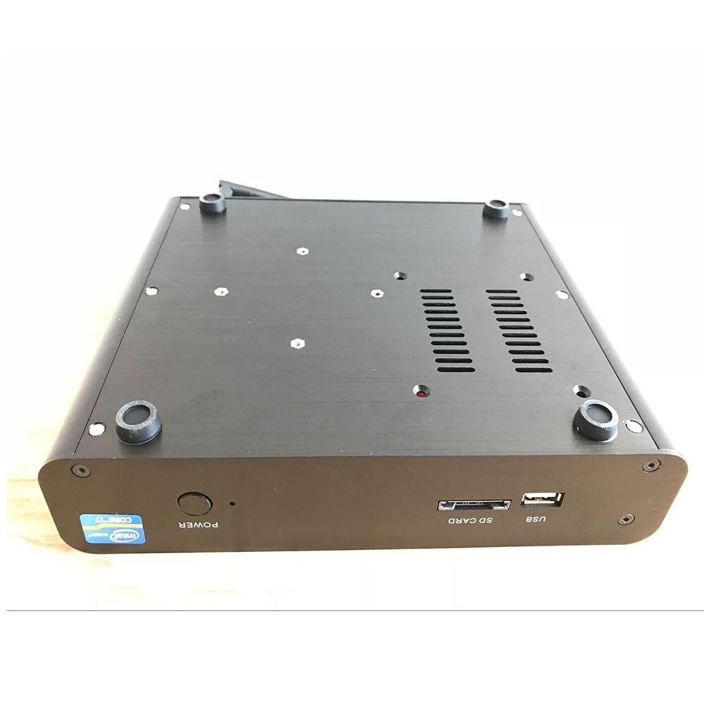 [7th Gen Core I7 7500U]Kaby Lake Windows10 Mini Pc 3.5GHz HD Graphics 620 Support SSD 2.5HDD Mini Computer 4K Desktop
