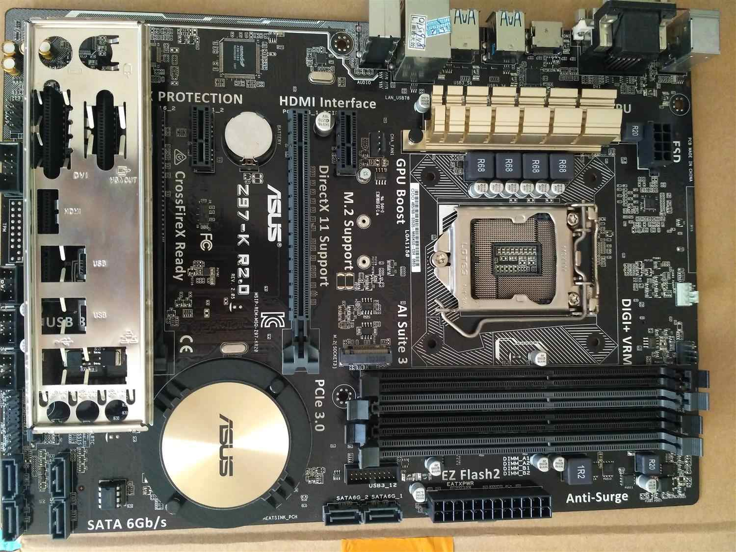 DRIVERS FOR ASUS Z97-K R2.0 INTEL CHIPSET