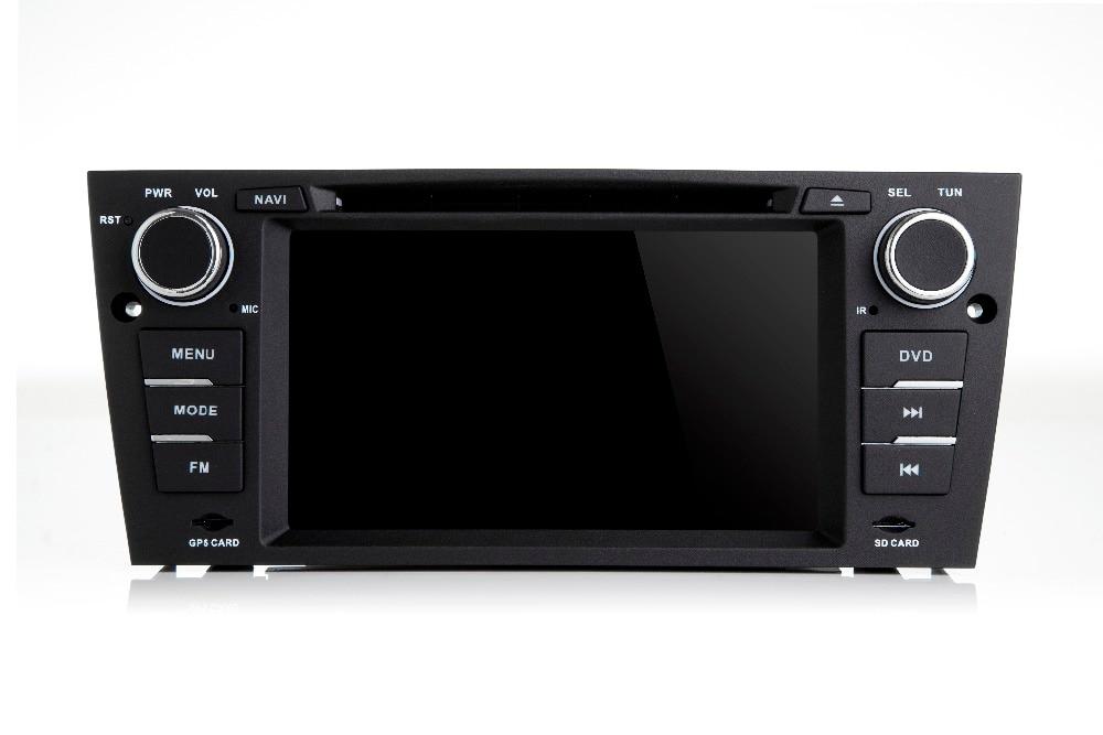 Prix usine Android 7.0 1din lecteur DVD de voiture pour BMW E90 Android DVD E91 Wifi 3G GPS Bluetooth Radio SD Canbus caméra gratuite + DVR